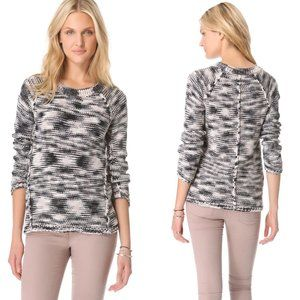 Rebecca Taylor Space Dye Knit Pullover Sweater